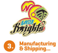 Manufacturing & Shipping...